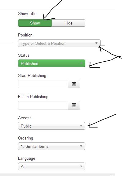 joomla menu create