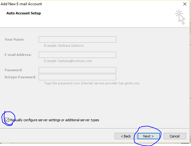 outlook Email Configure3
