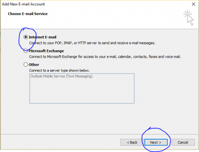 outlook Email Configure4