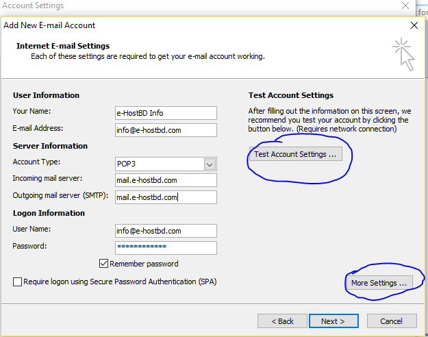 outlook Email Configure6