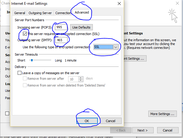 outlook Email Configure9