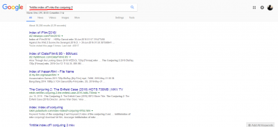 Direct downlod link google search page