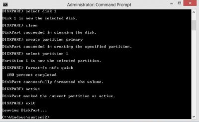 making pendrive bootable in cmd
